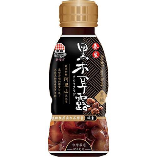 生活 黑木耳露-350ml/瓶(黑糖)[大買家]