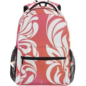 NR 新しい軽量おしゃれ学校バックパックオンブルサーティーシックスインフラワーズプリント旅行ハイキングキャンプバッグ多機能 遠足 おしゃれ