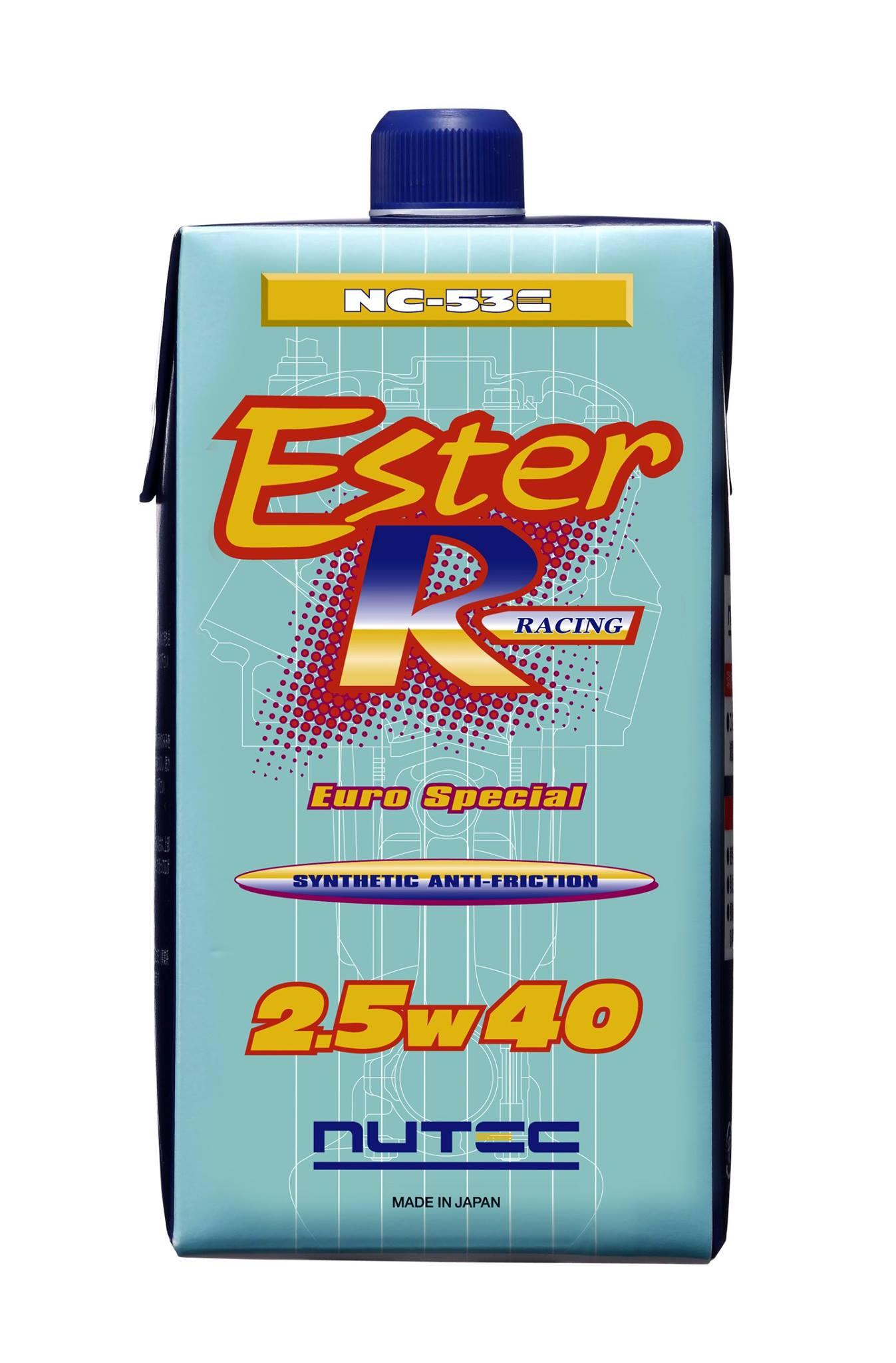 Ester Racing系列NC-53E 2.5W-40引擎機油