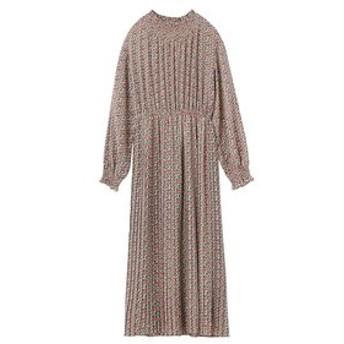 【MILKFED.:ワンピース】FLORAL PRINT DRESS