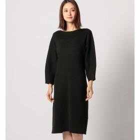 【ミューズ リファインド クローズ/MEW'S REFINED CLOTHES】 ボートネックニットワンピース