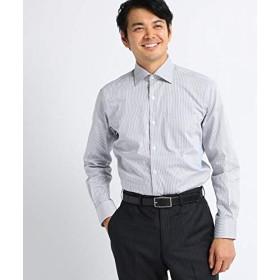 [ タケオキクチ ] ドレスシャツ ツイルロンドンストライプ ビジネスシャツ 07088005 メンズ チャコールグレー(314) 02(M)