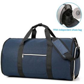 アウトドアトラベルバッグ大容量多機能収納靴袋付きポータブル荷物バッグ防水荷物バッグ (Color : A)