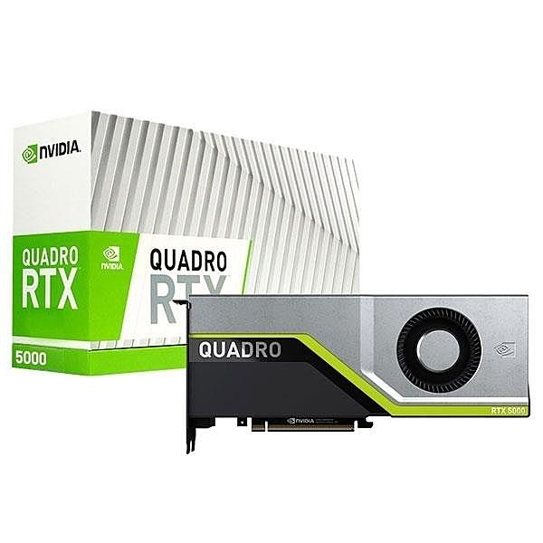 全新 麗臺 NVIDIA Quadro RTX5000 16GB GDDR6 256bit PCI-E 工作站繪圖卡