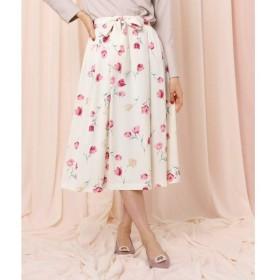 Couture Brooch / クチュールブローチ チューリップブルームフレアスカート