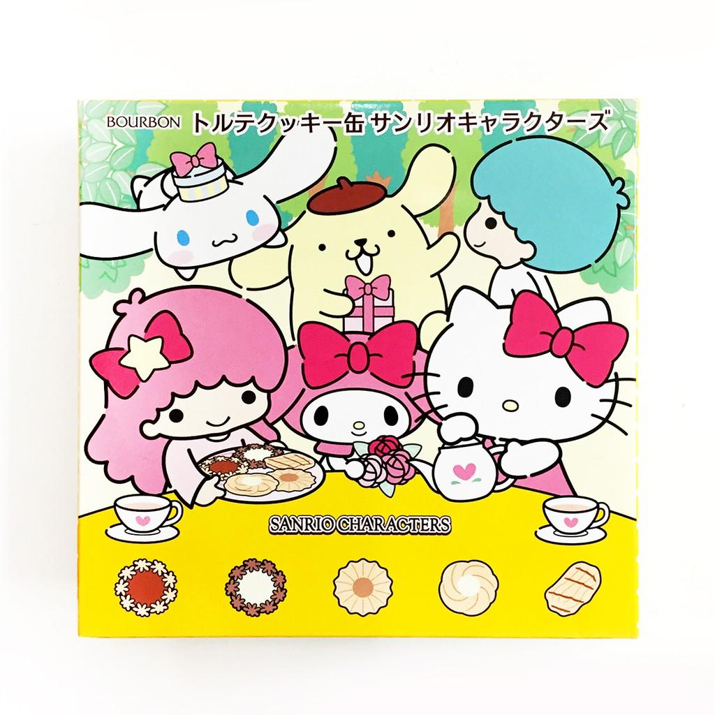 BOURBON北日本 Hello Kitty圓罐餅乾310.8g(綜合)