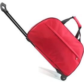 男性と女性の防水トロリーバッグ折り畳み式トロリーバッグポータブル大容量レジャー荷物 (Color : B)