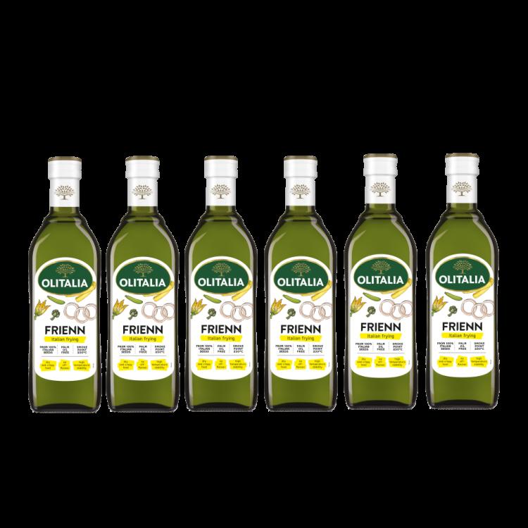 奧利塔高溫專用葵花油750毫升6瓶組(可選擇搭贈奧利塔禮盒)(限配送台灣本島地區)
