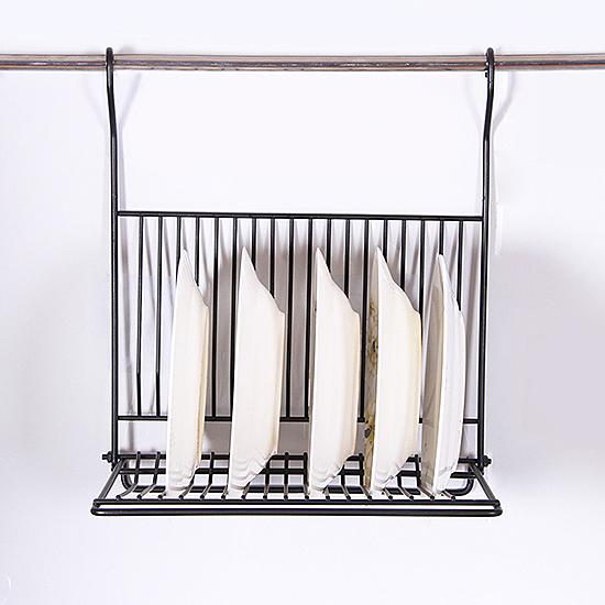 瀝水架 置物架 收納架 碗盤架 掛架 可摺疊 層架 日式鐵藝家居 鐵藝碗盤架【L191-1】慢思行
