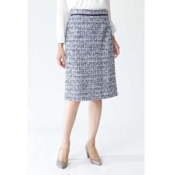 NATURAL BEAUTY / ナチュラルビューティー ツィードAラインスカート
