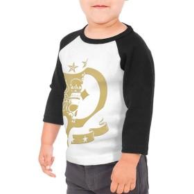 三代目 JSB Tシャツ ユニセックス 子供 七分袖 ラグラン 普段着 インナー スポーツ 丸襟 薄手 快適 吸汗 伸縮性 通気 耐久 春秋冬 肌触りよく 柔らかい 上着 入学式