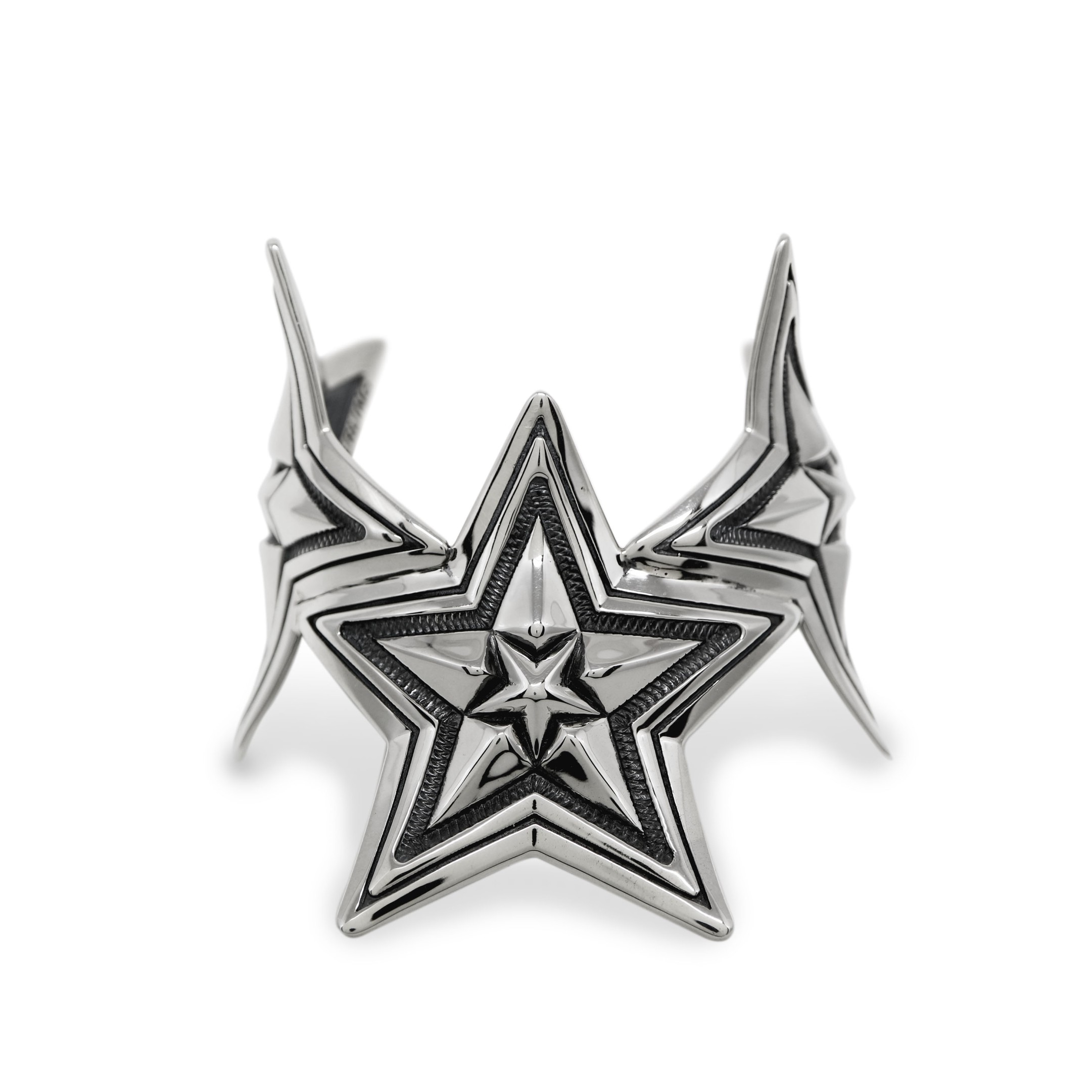 3 STAR IN STAR BEND CUFF  [USD $2220]