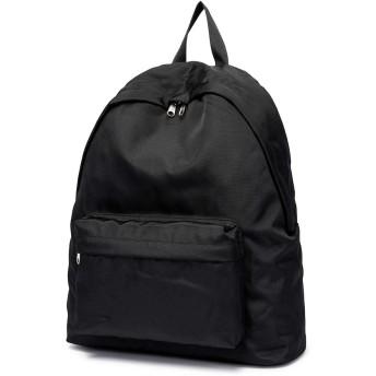 ビジネスコンピュータバッグ旅行バックパックシンプルなバックパックメンズファッショントレンドイン学生学生バッグ (ブラック)