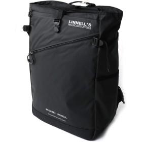 (マイケルリンネル) MICHAEL LINNELL バックパック リュックサック デイパック 25L 撥水加工 軽量素材 高耐久性 メンズ レディース F Black MLAC-09