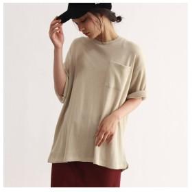 【オゾック/OZOC】 [フルーツオブザルーム]ワッフルTシャツ