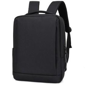 ノートパソコン用のバッグ ビジネスショルダーバッグレジャー・カレッジの学生のスクールバッグコンピュータバッグメンズリュックメンズバックパック潮トラベルバックパック (色 : Black, サイズ : L)
