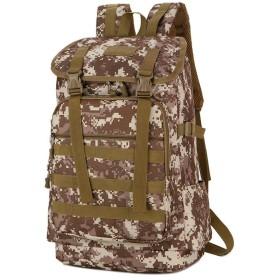 ノートパソコン用のバッグ 車キャンプの冒険で旅行迷彩アウトドア登山バッグショルダーバッグ戦術的なバッグ (色 : 6, サイズ : XL)