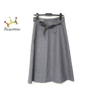 セオリー theory スカート サイズ00 XS レディース 美品 グレー 新着 20200215