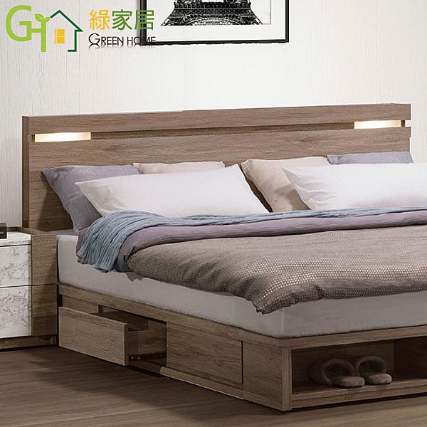 【綠家居】羅里德 現代5尺雙人床頭片(不含床底&床墊)