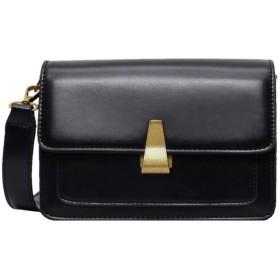 女性のファッションマイナースクエアバッグシンプルなショルダーバッグ危険なメッセンジャーバッグ 実用的 (色 : Red, サイズ : 20.51014cm)