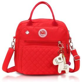 ベビーバッグ おむつ袋のバックパックの赤ん坊の心配の大きい容量のための多機能旅行バックパック 大容量の多機能バックパック (Color : Red, Size : 262610cm)