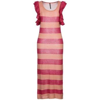 《セール開催中》MANILA GRACE レディース 7分丈ワンピース・ドレス フューシャ 0 テンセル 60% / レーヨン 28% / ポリエステル 12%