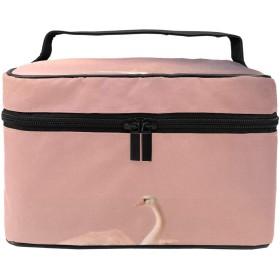 化粧ポーチ 白鳥 ピンク きれい 機能性 大きめ レディース コスメポーチ 便利 大容量 収納 旅行 収納 メイク道具 雑貨 小物入れ 使いやすい 化粧品 収納ケース 防水 携帯便利