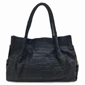 ハンドバッグ、スタイリッシュなカジュアル野生ソフト顔ショルダーバッグ、レトロカラーステッチ羊トートバッグ、正方形の幾何学的パターン、32  45  16センチメートル 綺麗な (Color : B)