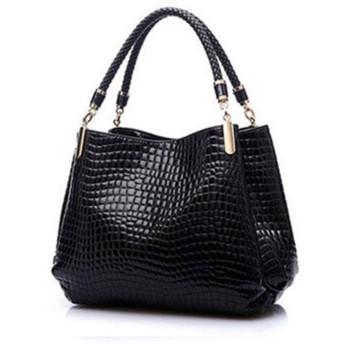 有名なデザイナーブランドバッグ女性レザーハンドバッグ レディースハンドバッグ財布ファッションショルダーバッグボルサ嚢ワニ