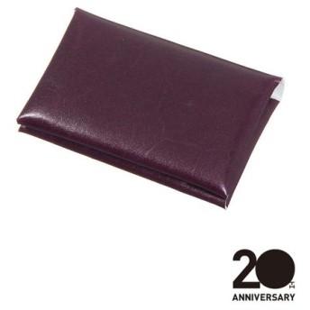 革小物/キーリング/グッズ/メンズ/20周年記念アイテム/カードケース/Leather by ANNONAY/ パープル