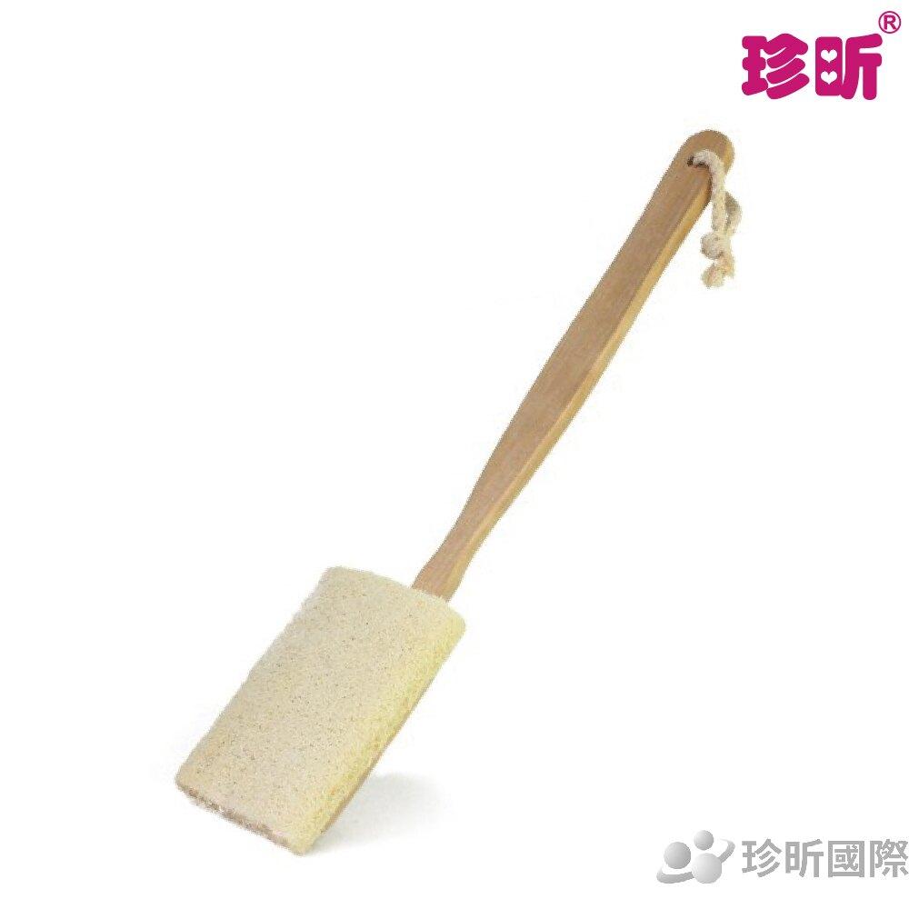 【珍昕】扁型絲瓜兩用澡刷(總長約41cm)/澡刷