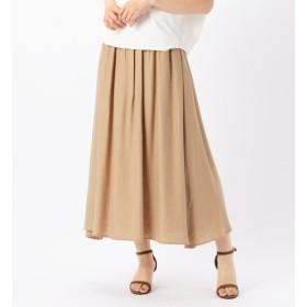 【リエス/Liesse】 ロングギャザースカート