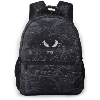 男女兼用 マウイスーパーヒーローvenom (2) 多機能バッグ 出張 旅行 通学 収納バッグ おしゃれ カスタム 個性的なリュックサッ 通勤 防水大人バックパック リュック ノートPC収納対応 カバン 大容量 バックパック