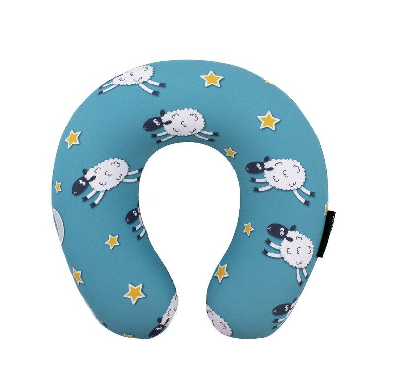 小綿羊  小孩專用 - 涼感記憶綿頸枕 (附收納袋)