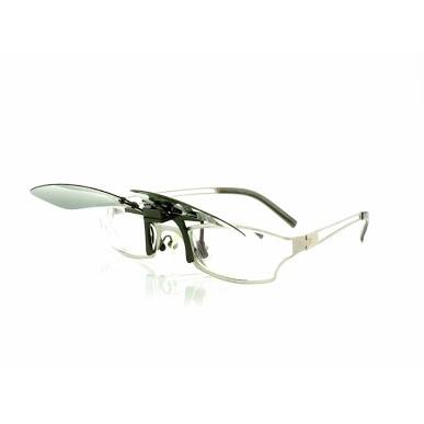 又敗家|台灣製造PHOTOPLY夾式偏光太陽眼鏡(可掀式,適近視眼鏡小朋友老花眼鏡老人,保麗萊抗紫外線)寶麗萊太陽眼鏡