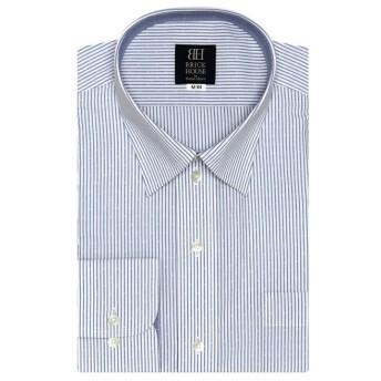 【31%OFF】 トーキョーシャツ ワイシャツ長袖形態安定 レギュラー ブルー系 メンズ ブルー S-80 【TOKYO SHIRTS】 【セール開催中】
