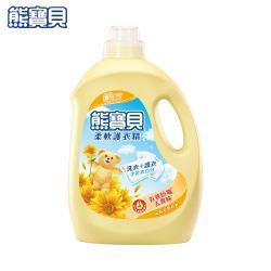 熊寶貝 柔軟護衣精3200ml/瓶-陽光馨香