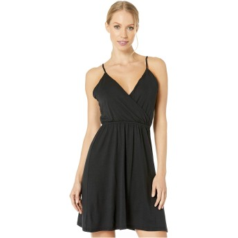 [VOLCOM(ヴォルコム)] レディース水着・スウィムスーツ Not My Luv Cami Dress Black XS [並行輸入品]