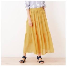 【シューラルー/SHOO・LA・RUE】 ティアードデザインスカート
