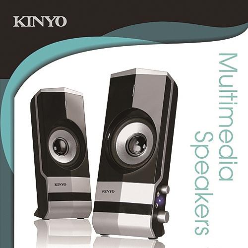 KINYO PS-292 二件式多媒體音箱