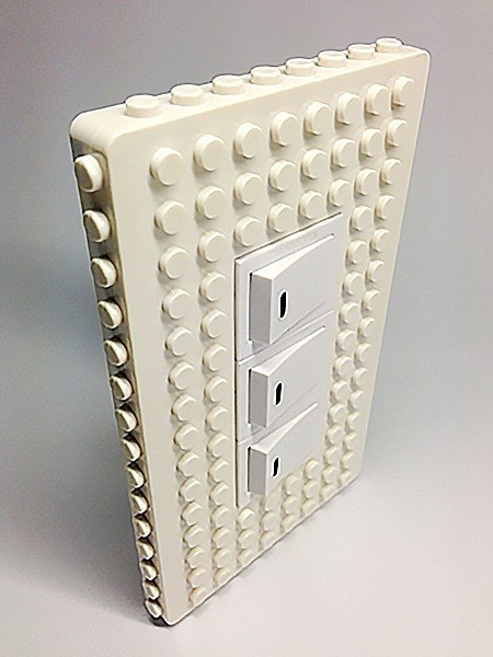 最後2組 不再生產 經典白積木收納電源蓋 相容樂高LEGO
