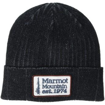 [Marmot(マーモット)] ハット・帽子 Retro Trucker Beanie Black/Steel Onyx OS [並行輸入品]