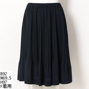 ラクープ(LACOUPE)/【大きいサイズ】プリーツスカート