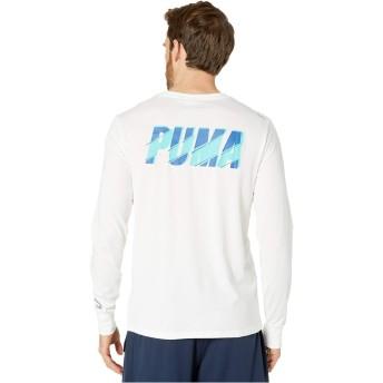 [PUMA(プーマ)] メンズTシャツ XTG Trail Long Sleeve Tee White L [並行輸入品]
