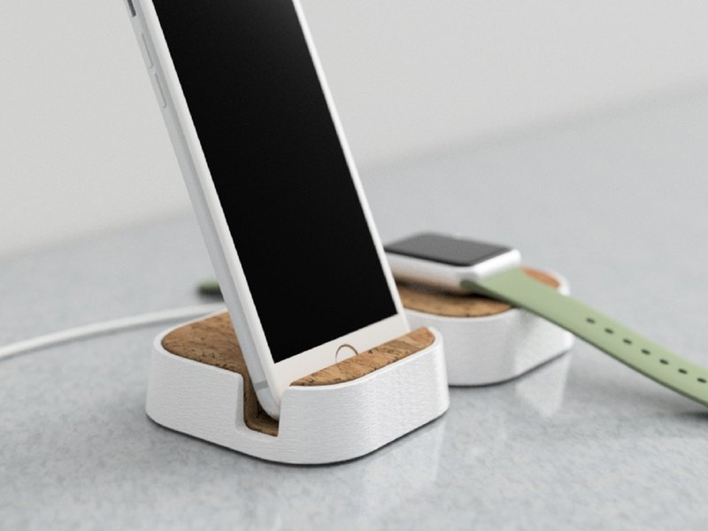 Wooden iPhone Stand, Wooden iPhone Holder, Wooden Anniversar