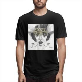 DRAKEA Chelsea Grin Deathcore 男性 Youth Pop 半袖 Tシャツ Classic Tシャツ ブラック