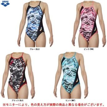arena(アリーナ)メッシュフライバック(FSA9618W)スポーツ 水泳 スイミング スイムウェア トレーニング用水着 女性用 レディース