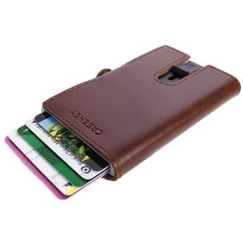鈴堂 りんどう カードケース スマートウォレット メンズ FD05PG-BROWN CASAKEY ブラウン