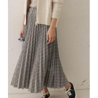DOORS(ドアーズ) スカート スカート チェックプリーツスカート【送料無料】