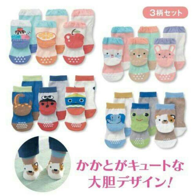 日本千趣會童襪寶寶襪(3雙一組)